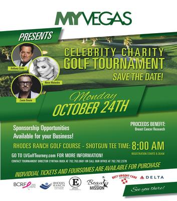 My Vegas Celebrity Golf Tournament 2016